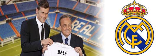 Bale, la nueva contratación del Real Madrid.