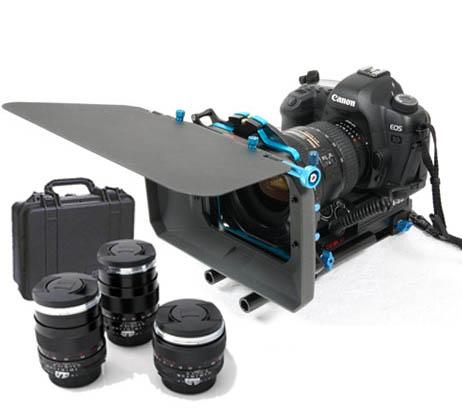 Kit Canon 5D III+opticas