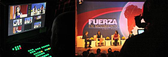Programa de TV para CNN en Español.