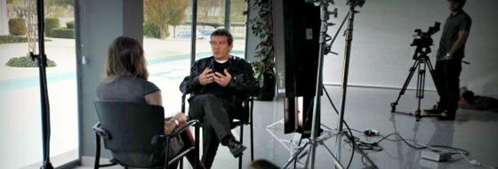 Antonio Banderas con VMB.