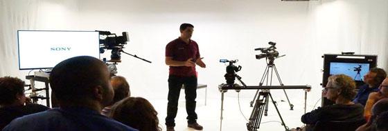Presentación de la cámara PXW-FS5.
