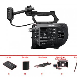 Pack Sony Fs7 + Opticas Canon EF