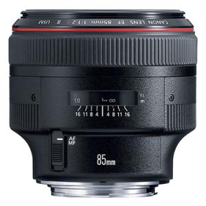Canon  EF 85mm 1:1.2 L II USM